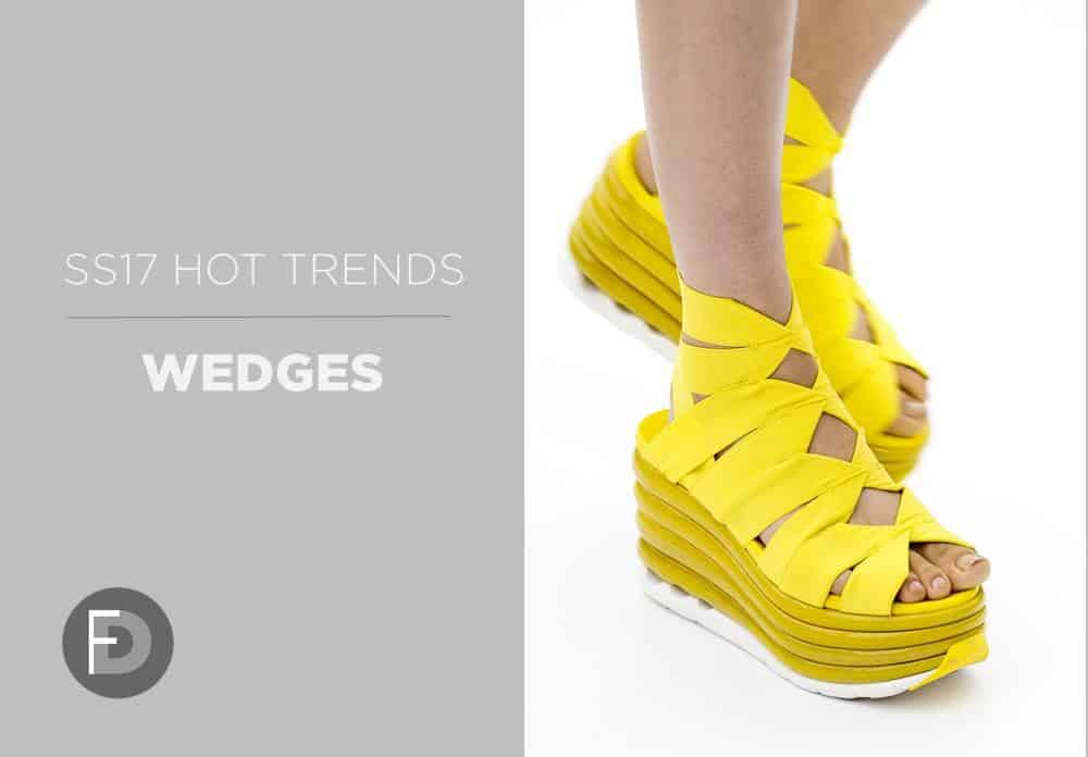 Wedges Hot Trends SS17