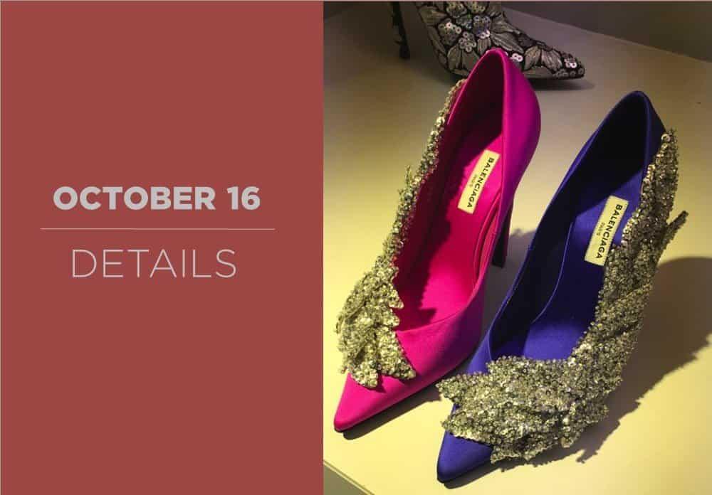 Shoes Details October 2016