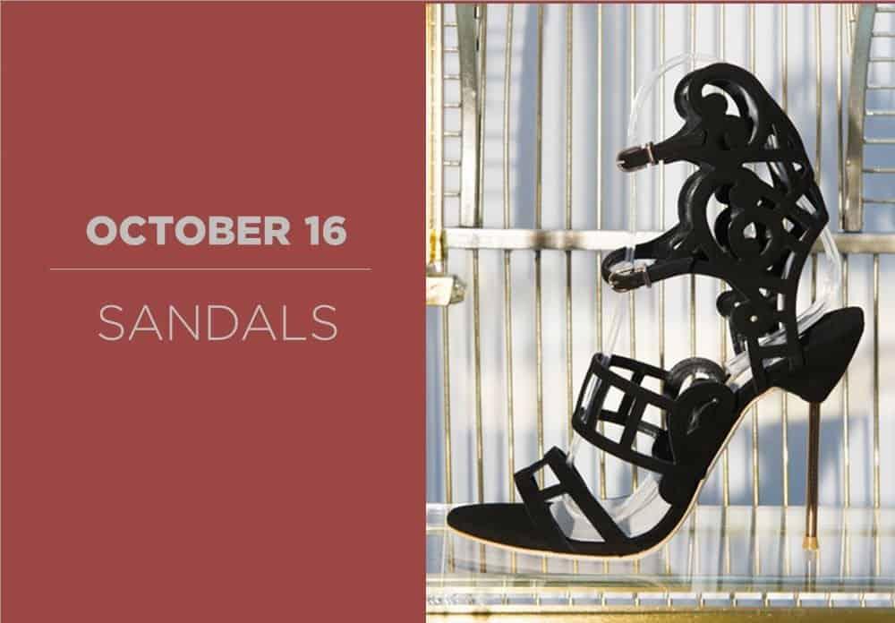 Sandals October 2016