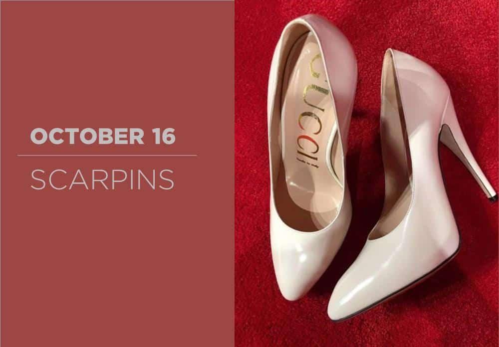 Scarpins October 2016
