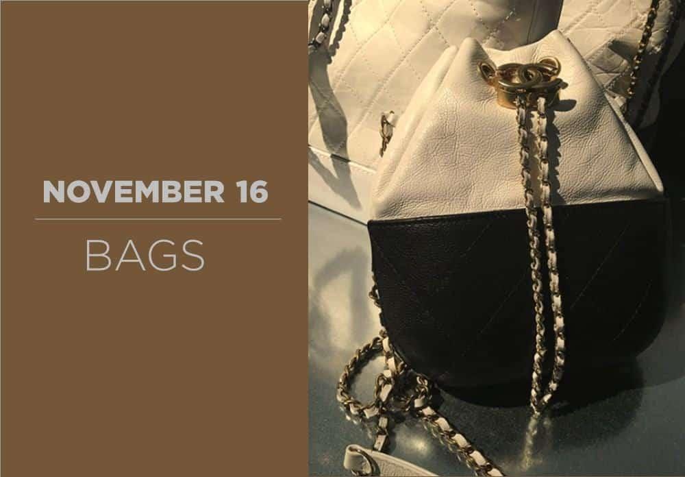 Bags November 2016