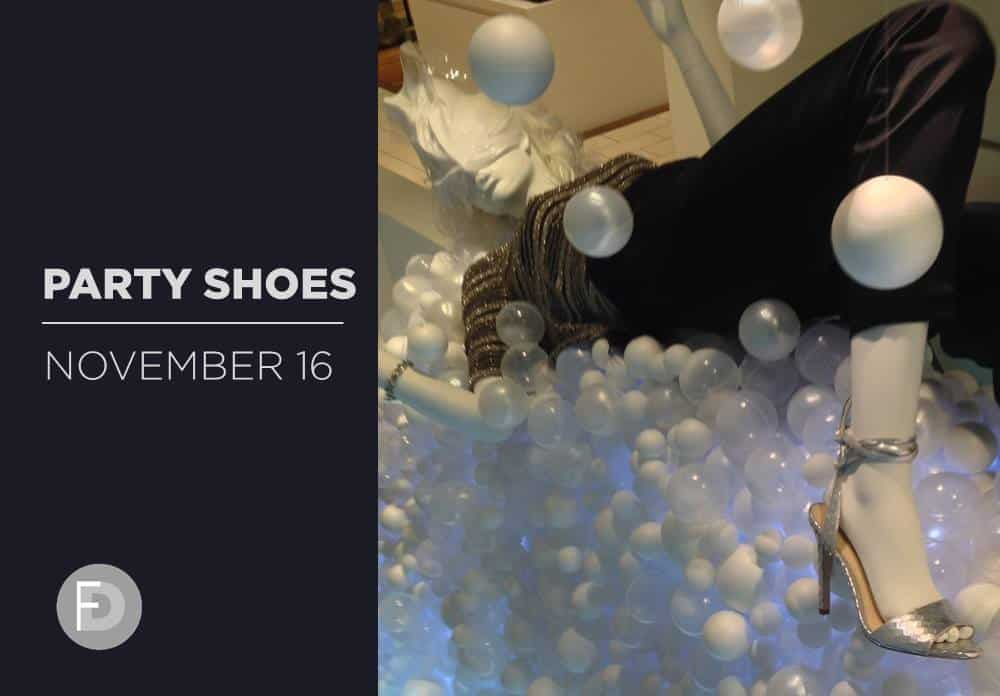 Party Shoes Holidays 2016