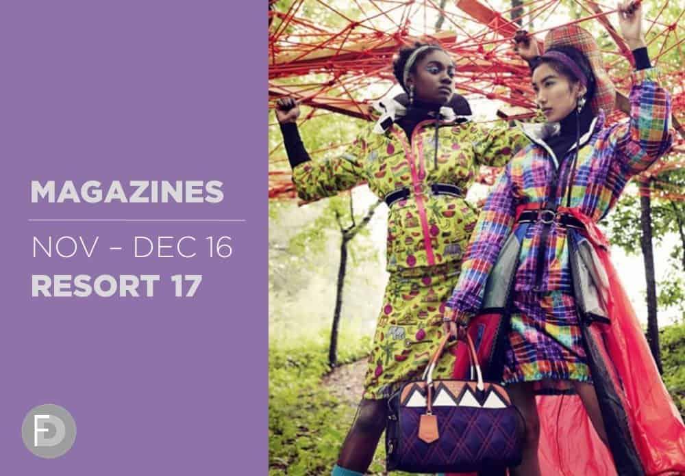 Magazines Nov-Dec 2016: Resort 2017
