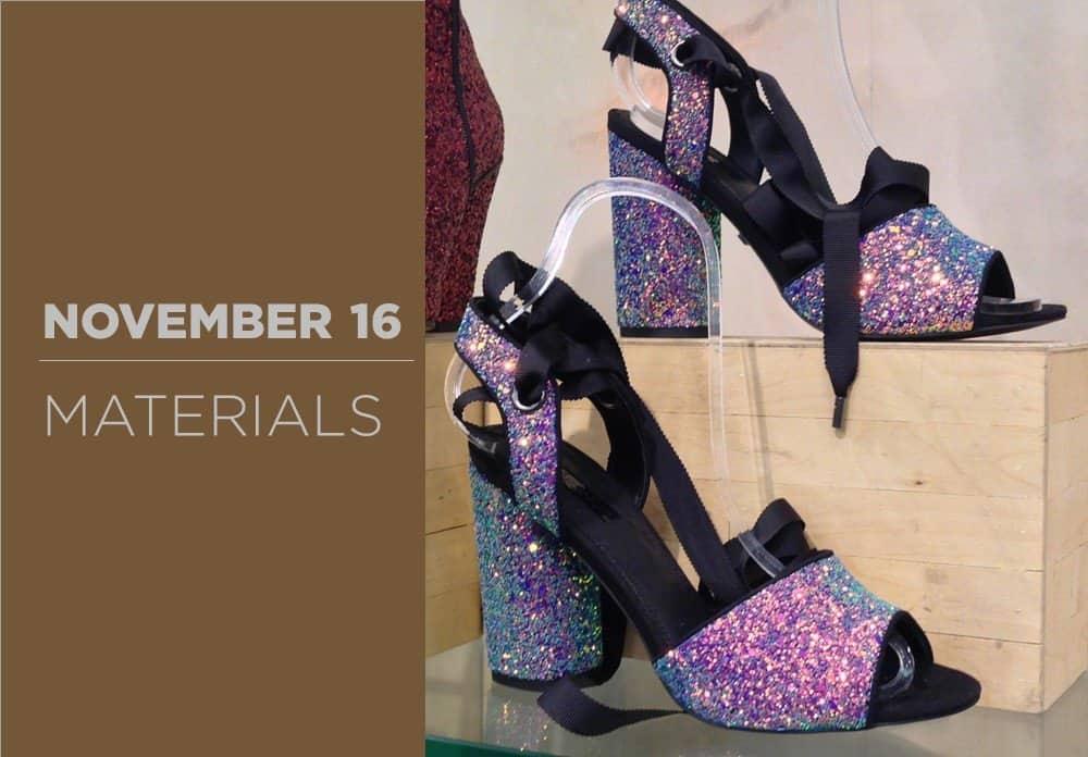Shoes Materials November 2016