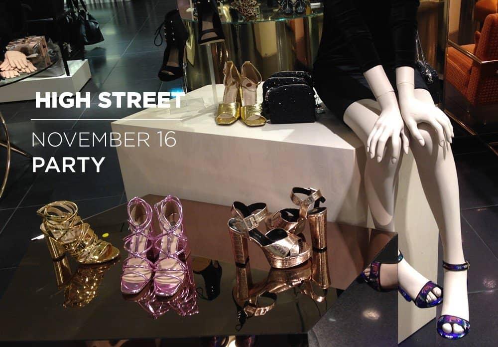 Retail High Street November 2016 – Party