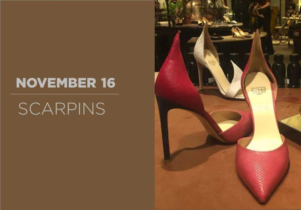 Scarpins November 2016