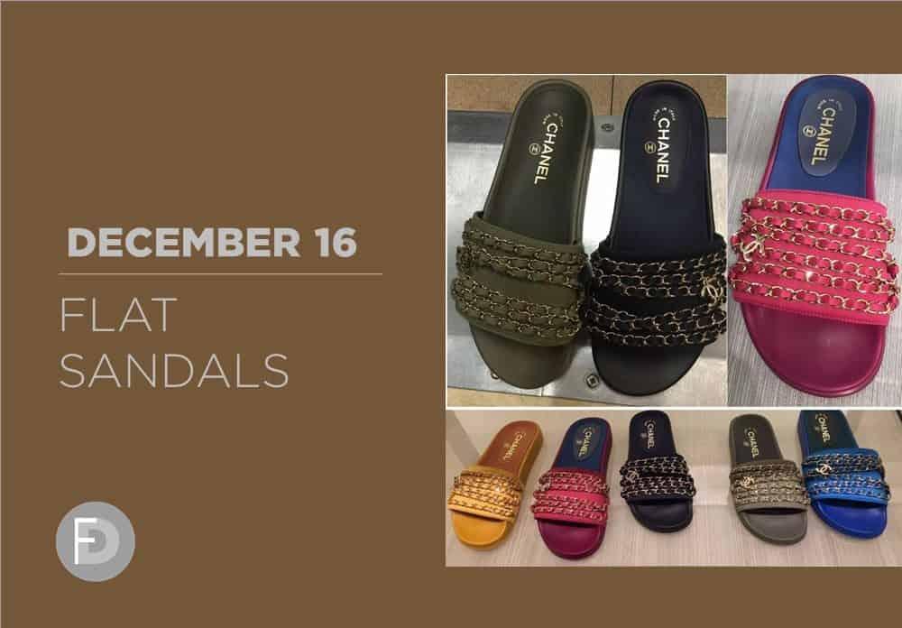 Flat Sandals December 2016