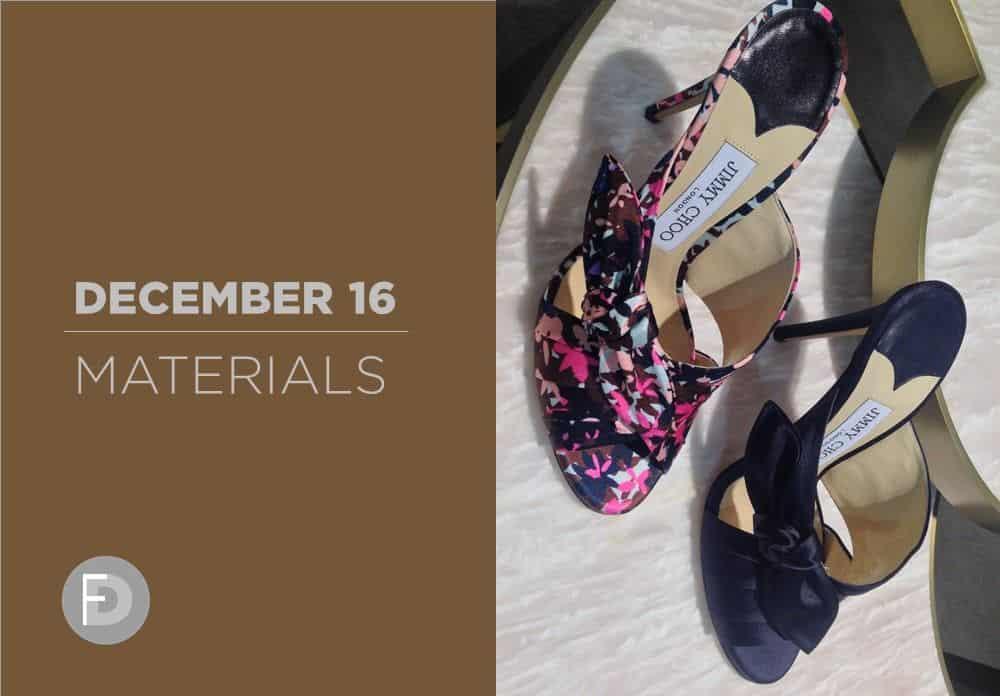 Shoes Materials December 2016