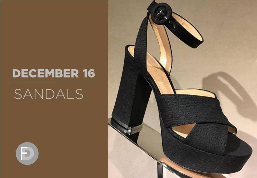 Sandals December 2016