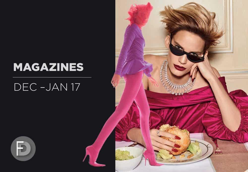 Fashion Magazines Dec 16 – Jan 17