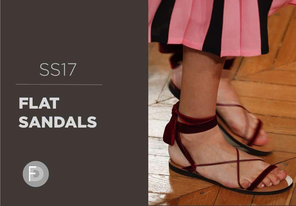 Flat Sandals SS17