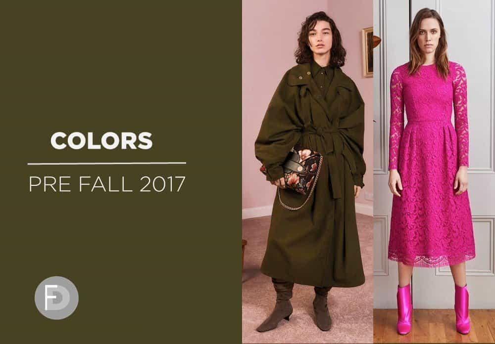 Key Colors Pre-Fall 17