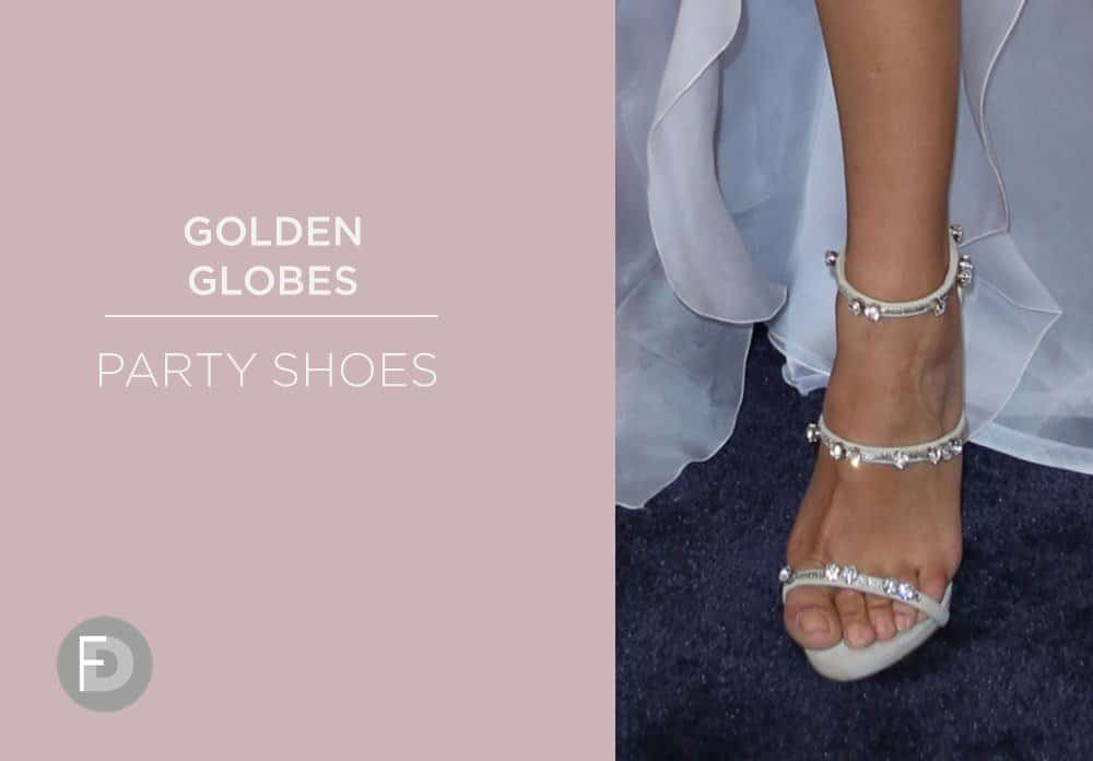 Golden Globes Party Shoes