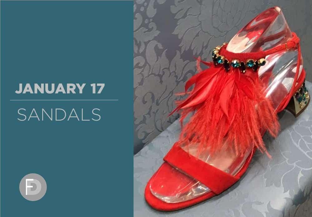 Sandals January 2017