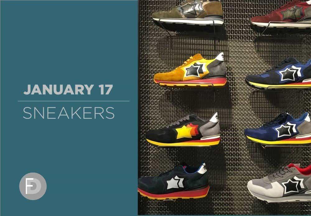 Sneakers January 2017