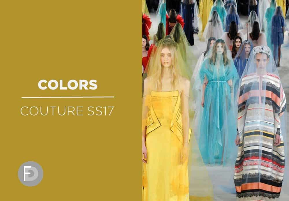 Couture SS17 Key Colors