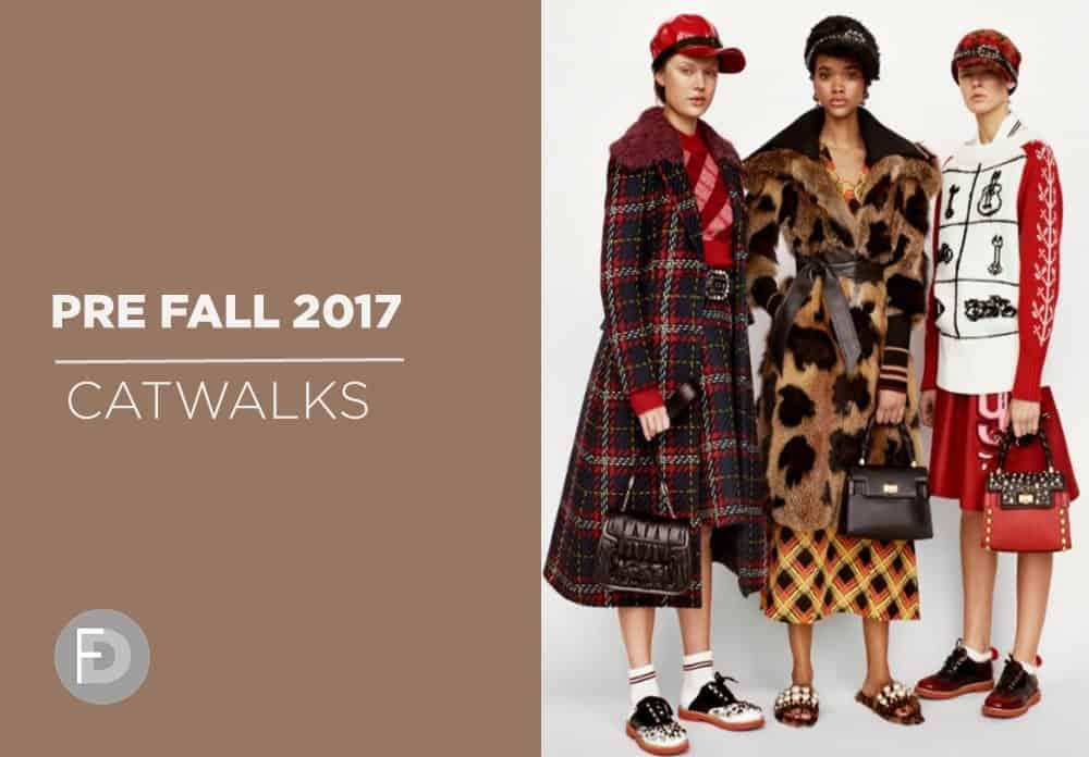 Catwalks Pre-Fall 2017 Part 2 (M-Z)