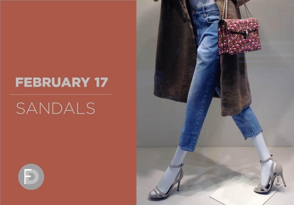 Sandals February 2017