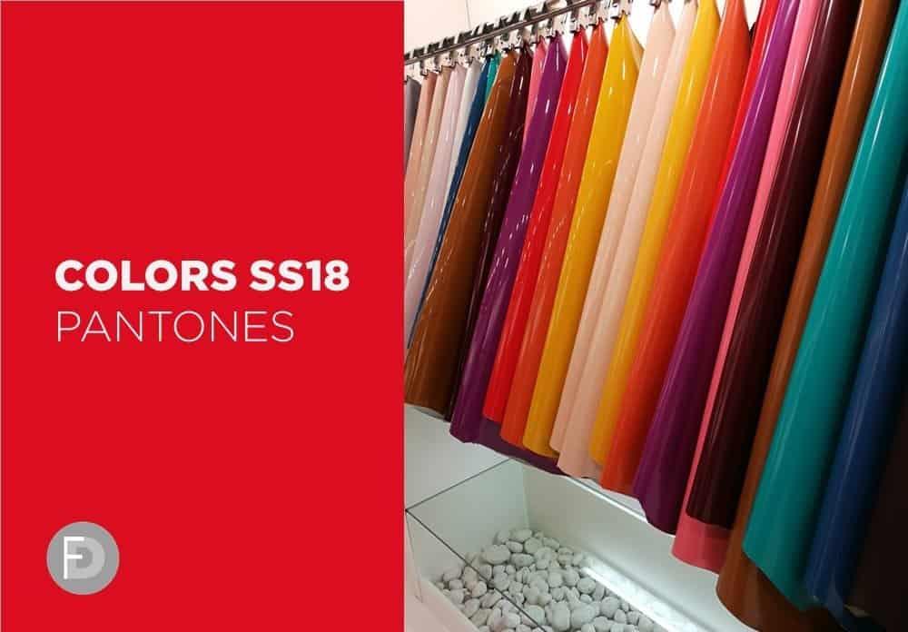 Colors SS18 – Pantones