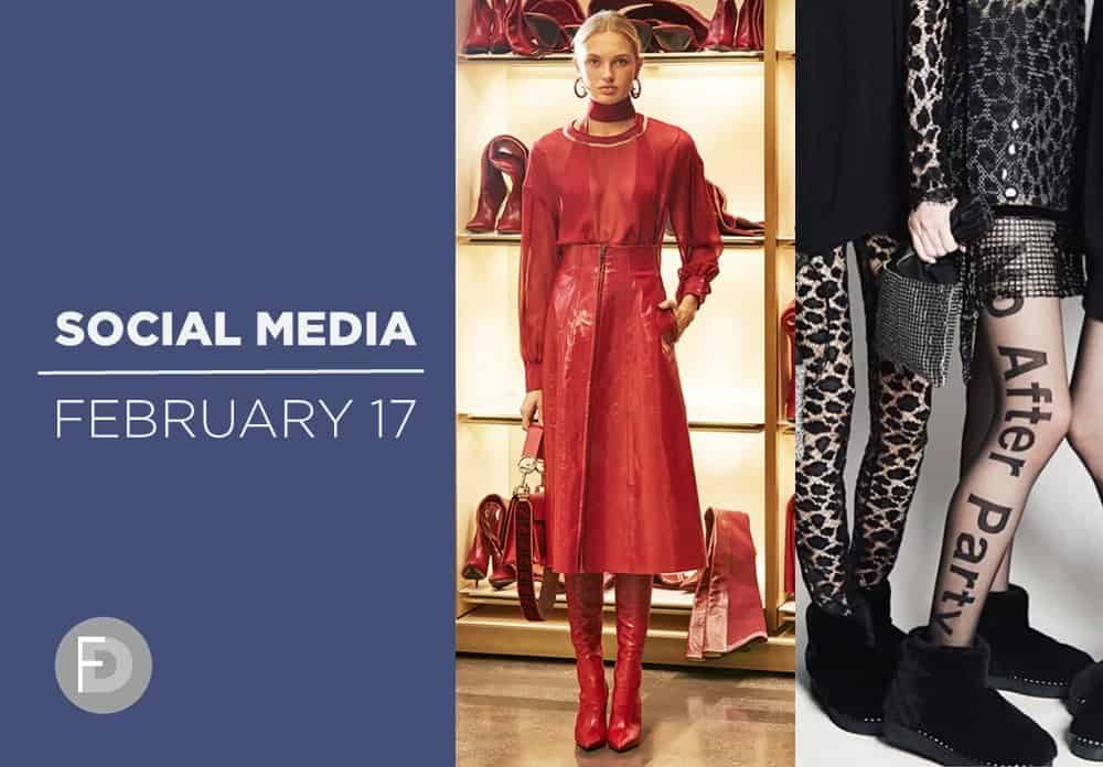 Social Media Feb 2017 – Fashion Week FW17/18