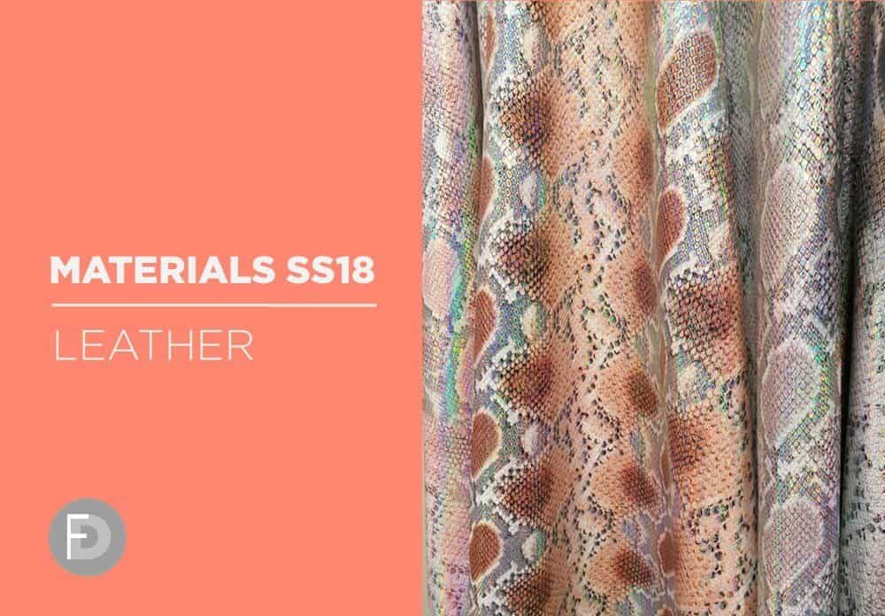 Materials Trade Fairs SS18 – Leather