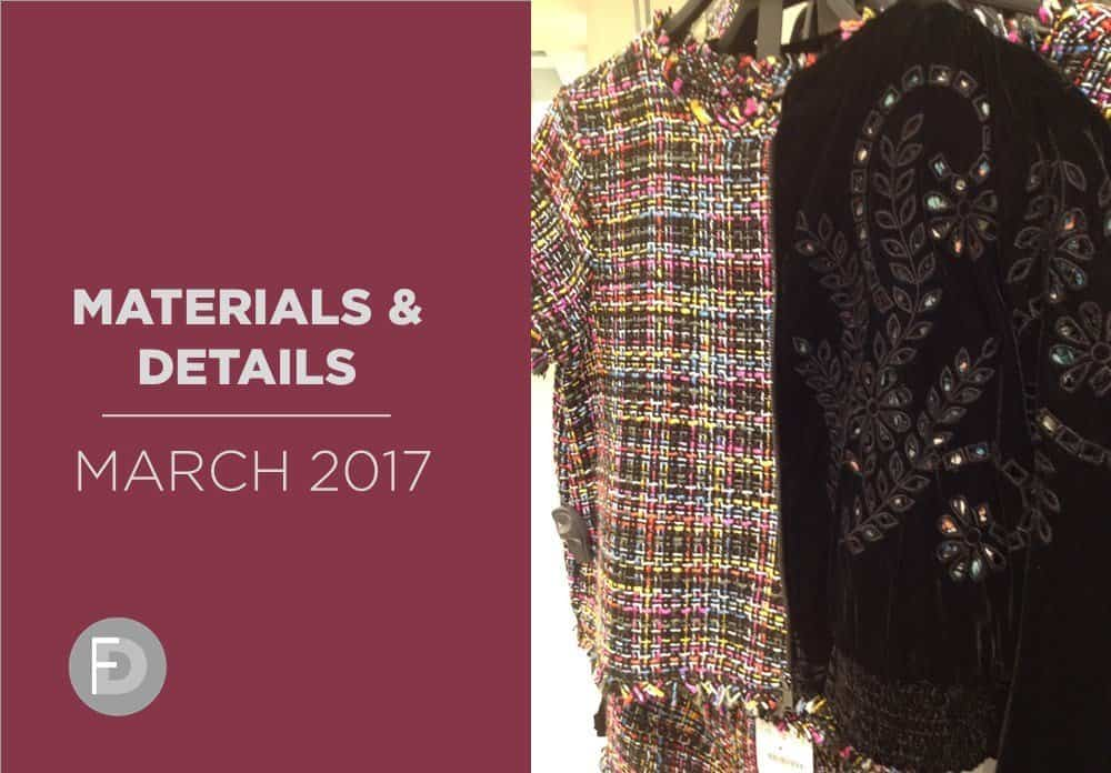 Shoes Materials And Details March 2017