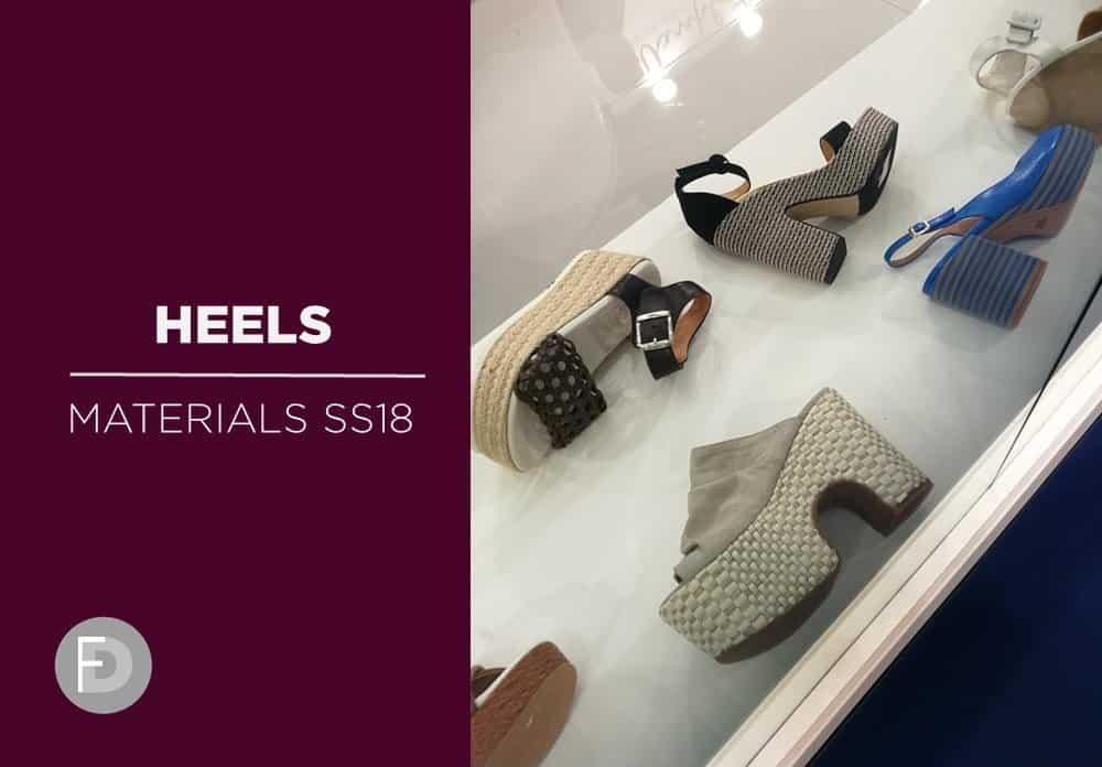 Materials Trade Fairs SS18 – Heels & Soles