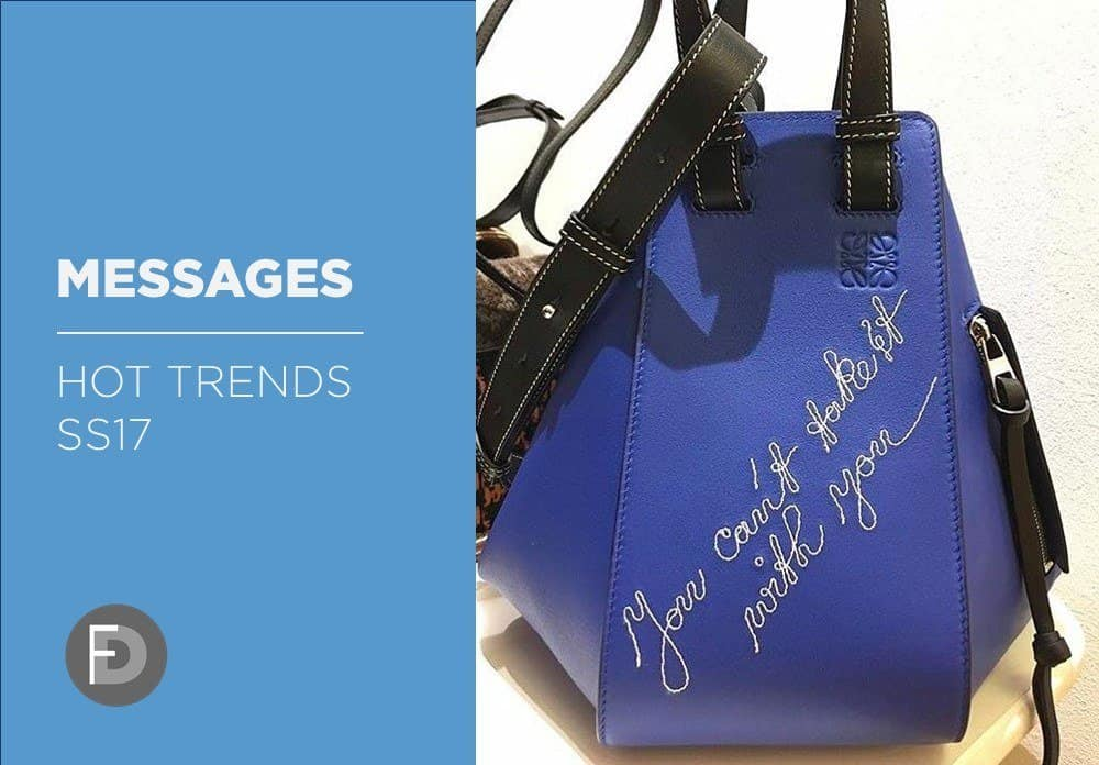 Messages & Logos Trends SS17