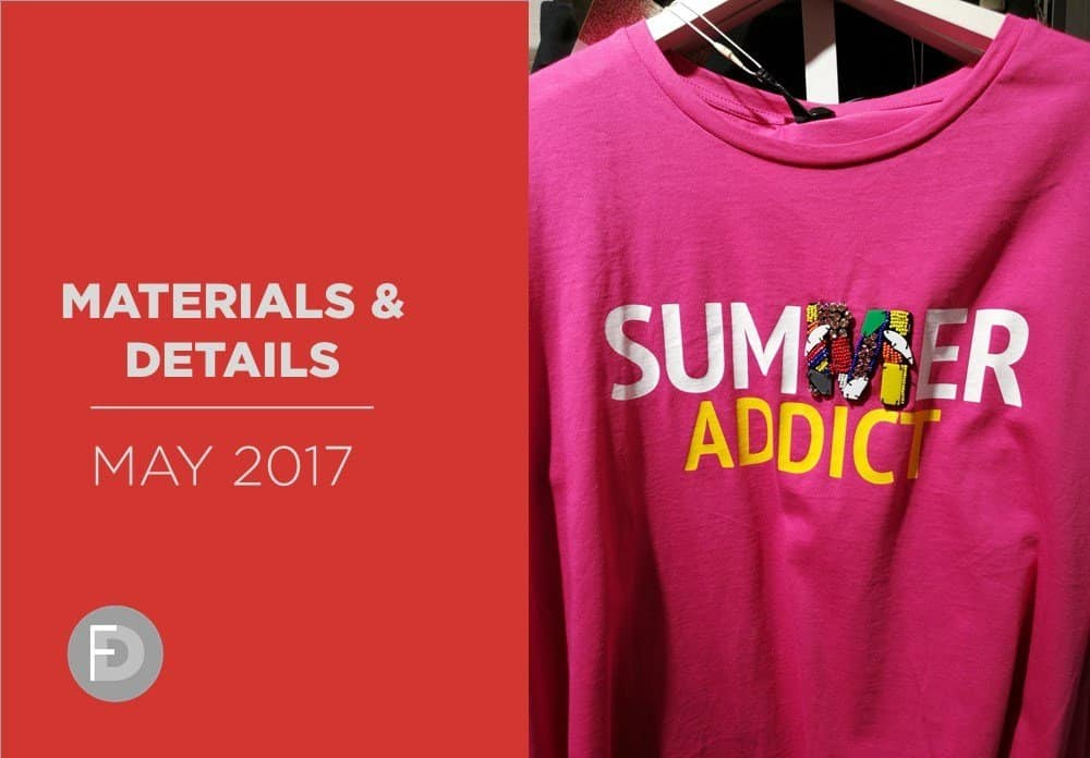 Shoes Materials And Details May 2017