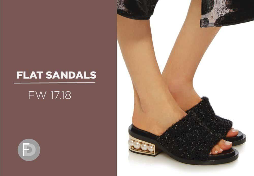 Flat Sandals FW17/18