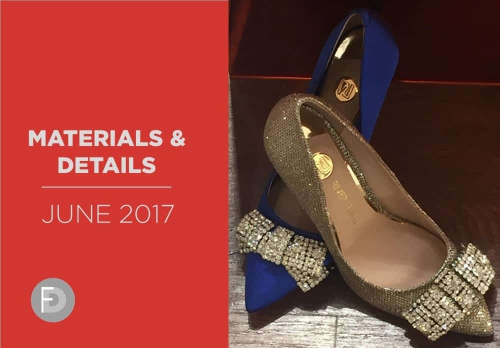 Shoes Materials And Details June 2017
