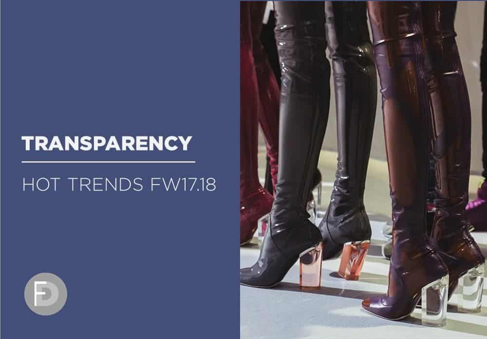 Hot trends FW17/18 – Transparency