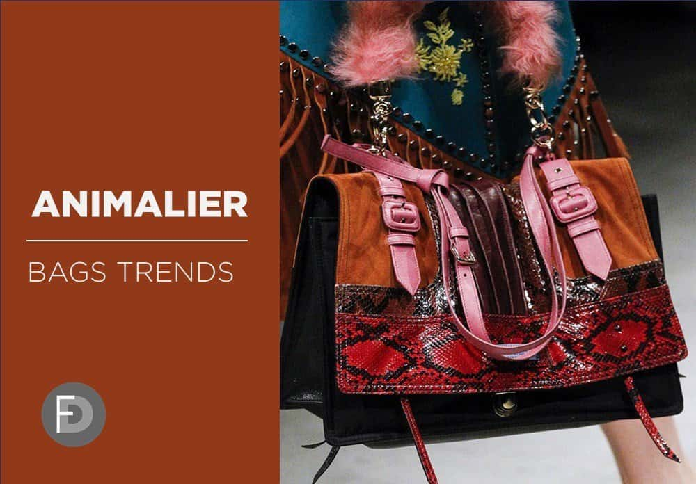 Bags Trends FW17/18  Animalier