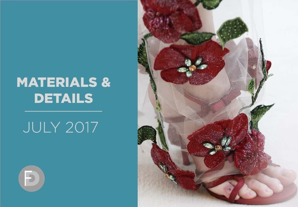 Shoes Materials And Details July 2017