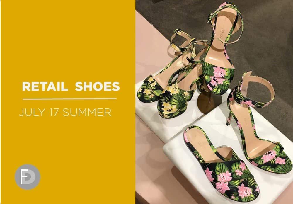 Retail Shoes High Summer SS17