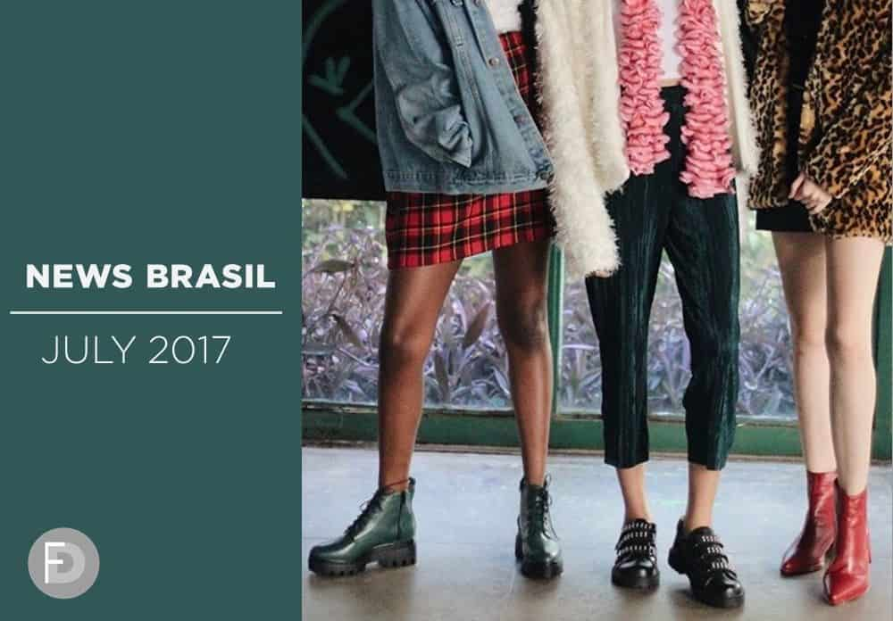 Brazil Shoes Trends July August 2017