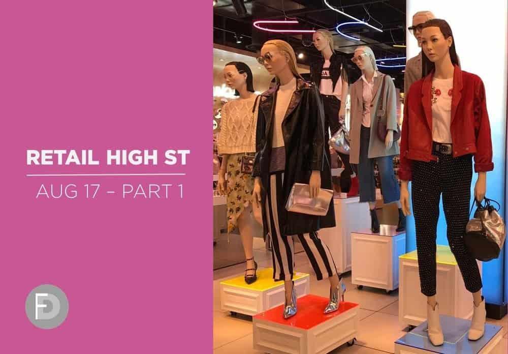 retail high street fashion shoes august 17