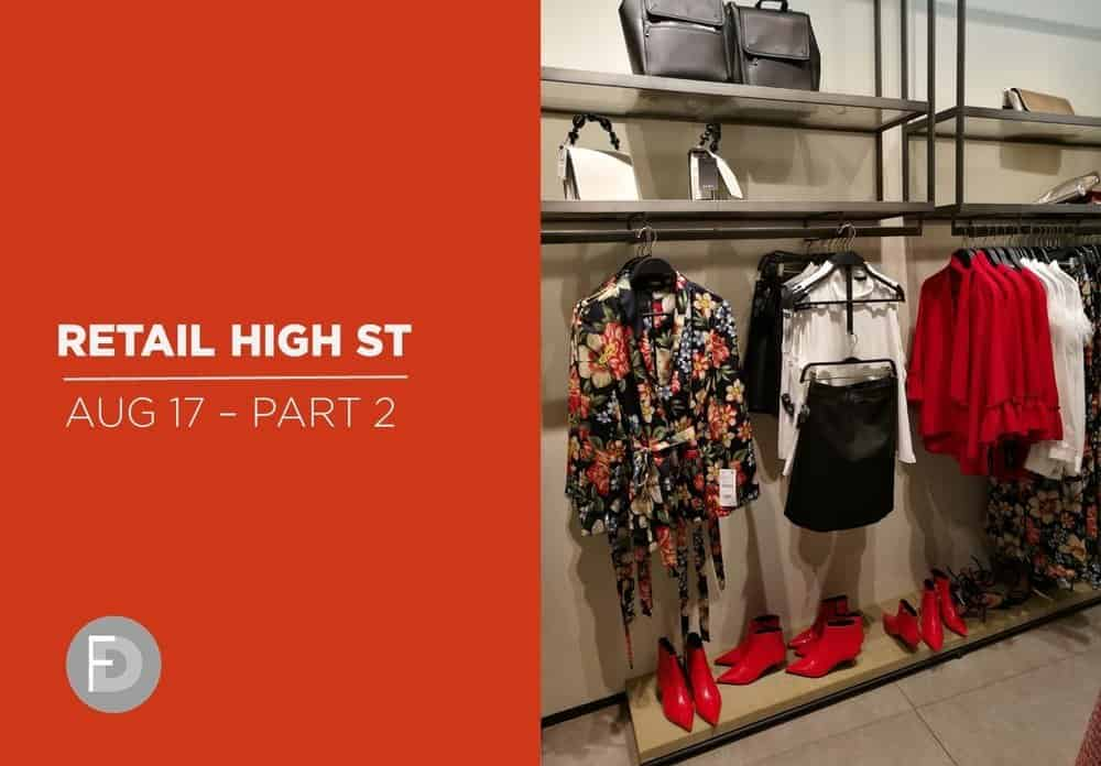 Retail High Street Footwear Trends August 2017 FW18