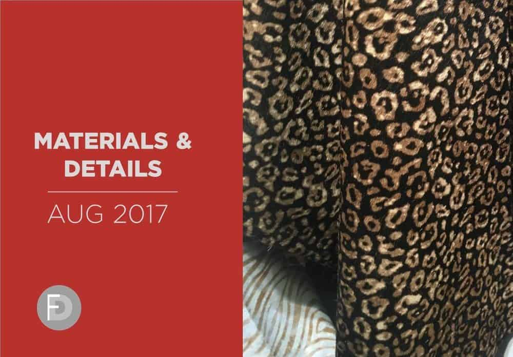 Shoes Materials And Details August 2017