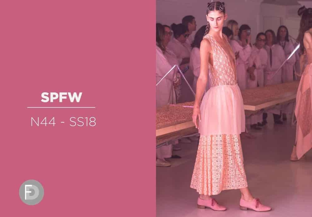Passarelas SPFW 2017 - SS18 - Tendencias rosa