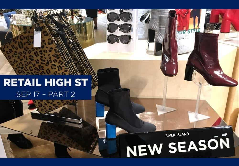 retail high street shoes september 2017
