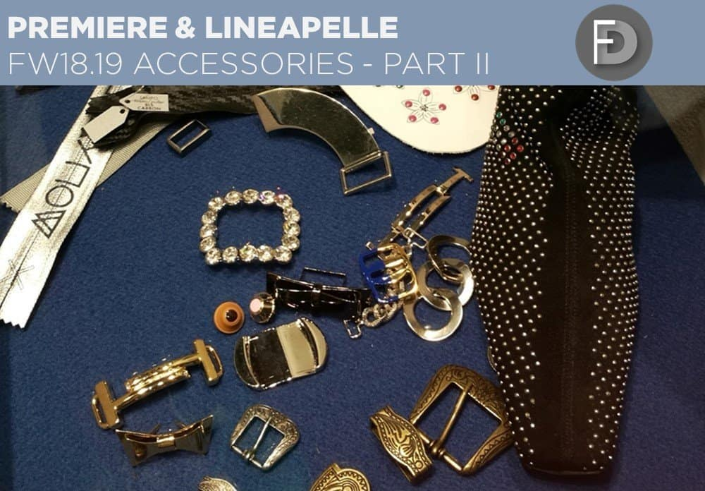 FW18/19 Trade Fairs Accessories – Part II