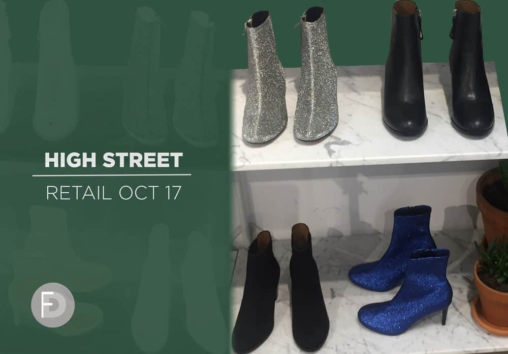 retail shoes high street october 2017