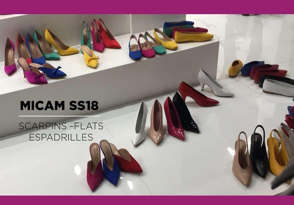 Micam SS18 – Scarpins, Flats & Espadrilles