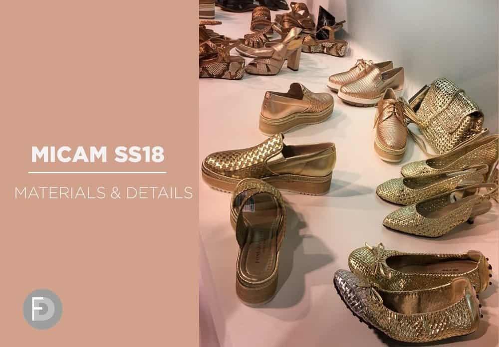 Micam SS18 – Materials & Details
