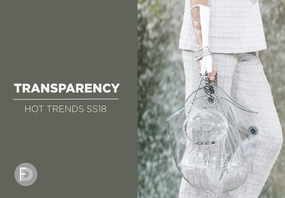 Transparency Hot Trends SS18