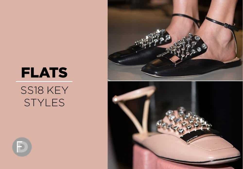 Flats SS18 Key Styles