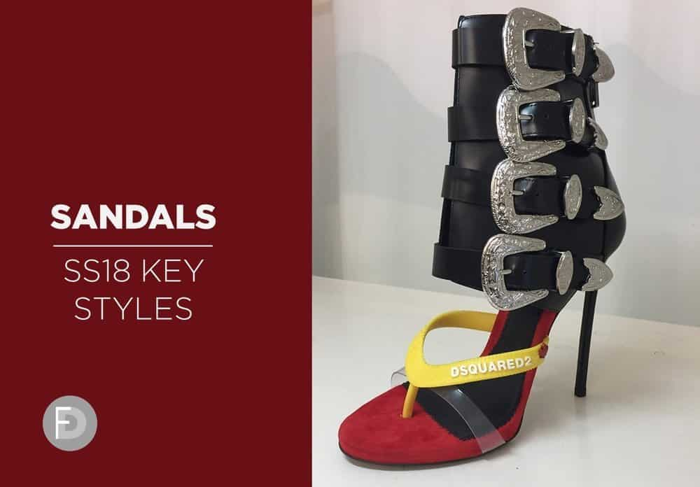sandals ss18