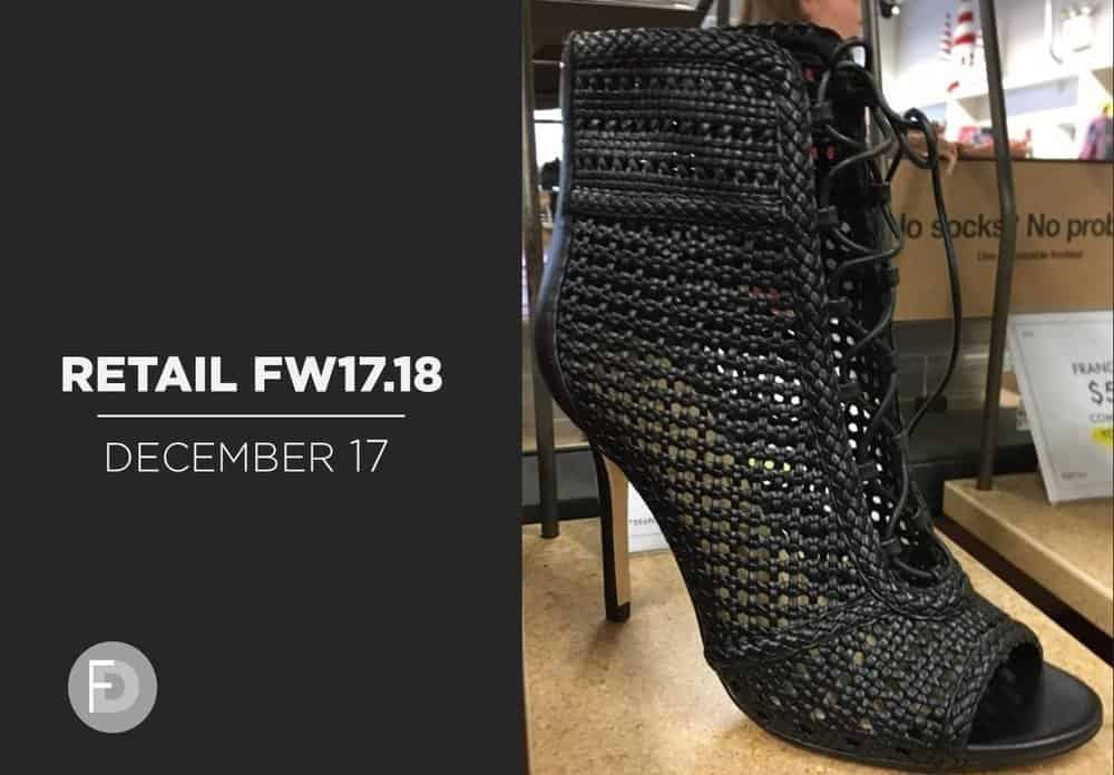 Retail FW17/18 Booties Updates