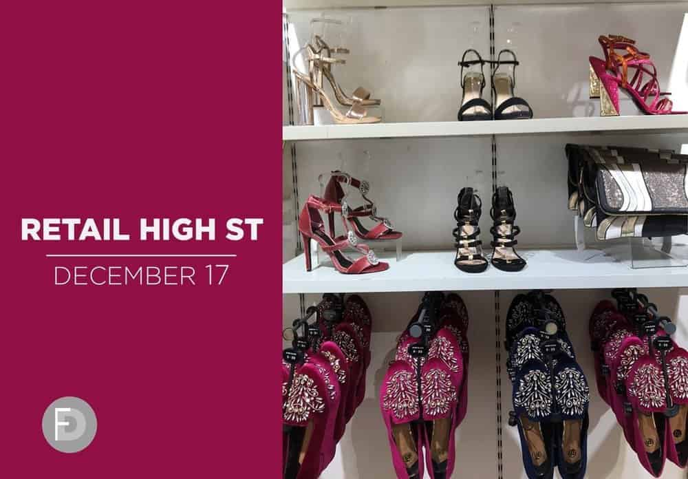 Retail High Street Women Shoes December 2017